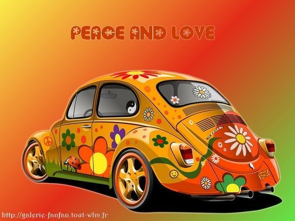 Fond d'ecran Peace and Love