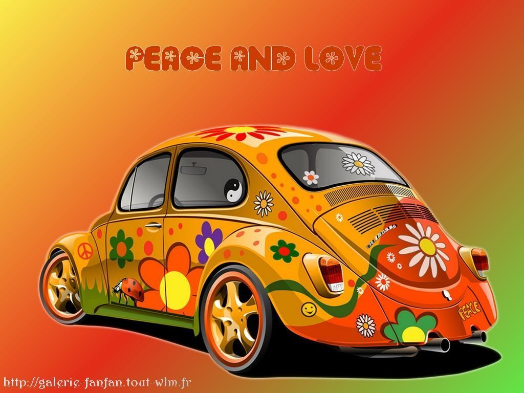 fond d cran peace and love funny wallpapers. Black Bedroom Furniture Sets. Home Design Ideas