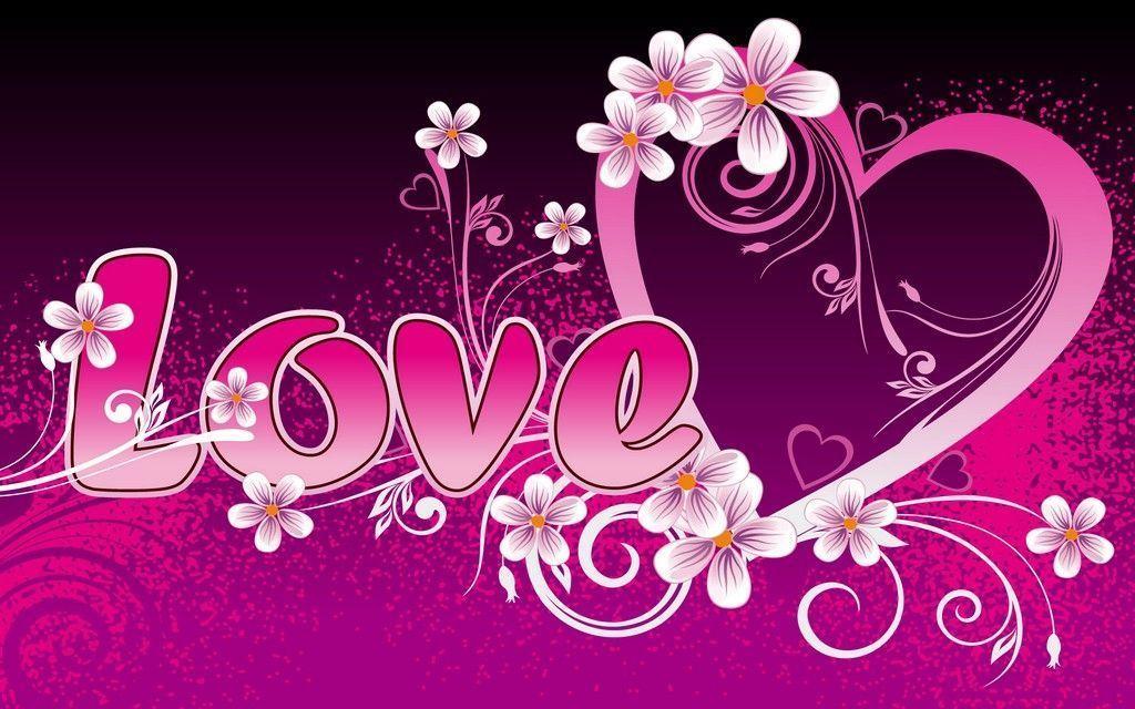 Fond D Ecran Love