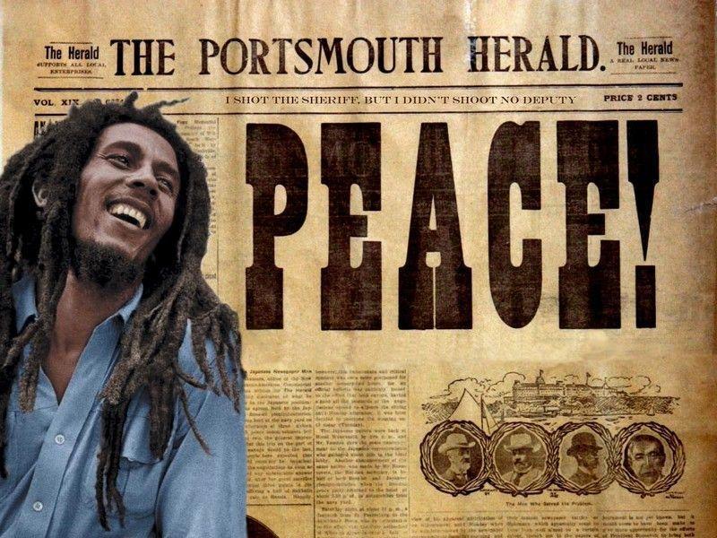 fond d'ecran Bob Marley